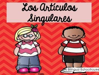 Los Articulos Singulares