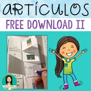 Los Artículos / Spanish Articles Interactive Notebook