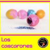 Los Cascarones:  Confetti-filled Easter Eggs  -  Spanish R