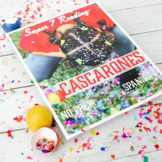 Los Cascarones Spanish Easter Activities Pascua Reading