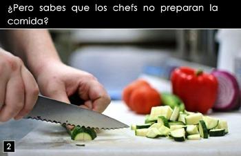 """Los Chefs"" – Original Spanish Book"