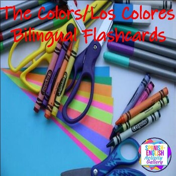 The Colors/Los Colores Flashcards