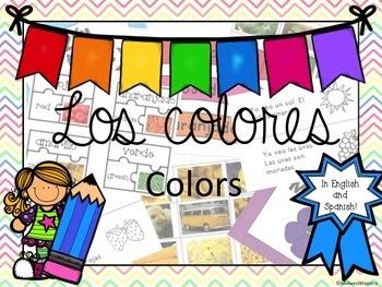Los Colores - A Bilingual Resource