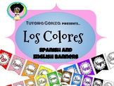 Los Colores Banner (Spanish and English)