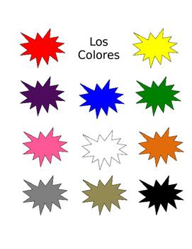 Los Colores Chart