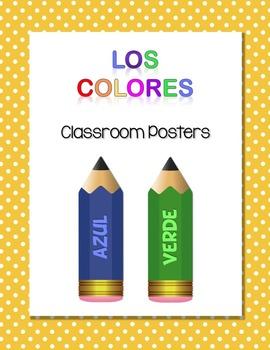 Los Colores Classroom Posters