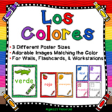 Spanish Classroom Decor : Colors in Spanish - Los Colores - Posters & Flashcards