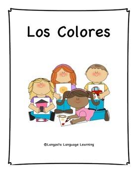 Los Colores Coloring Book