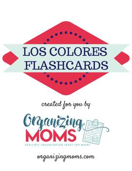 Los Colores - Colors - Spanish Flash Cards
