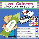 Los Colores- Colors Unit In Spanish