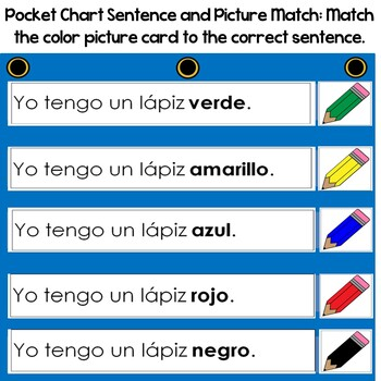 Los Colores- Colors Unit In Spanish