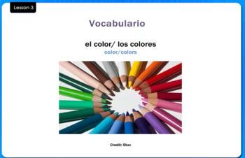Los Colores - Colors - Video Tutorial