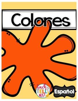 Los Colores - Colors Spanish