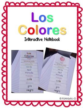 Los Colores Interactive Notebook