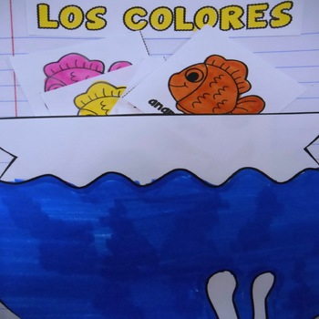 Los Colores - Interactive Notebook