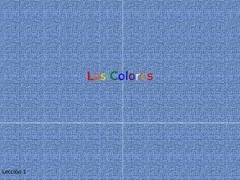 Los Colores Lección para los niños