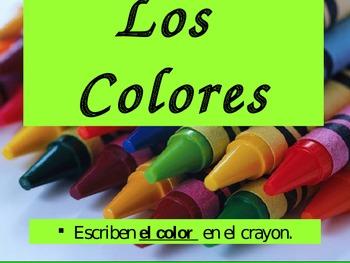 Los Colores - PowerPoint