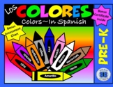Los Colores PreK - Learn Colors in Spanish
