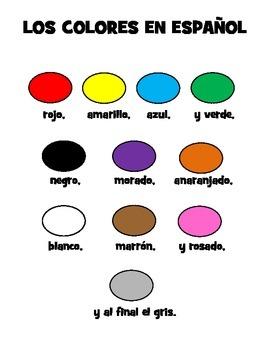 Los Colores Song