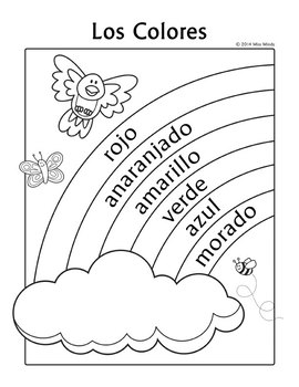 Unforgettable image with regard to spanish for preschoolers free printable