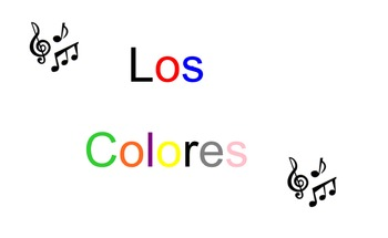 Los Colores - Spanish Colors Song