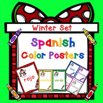 Los Colores: Spanish Color Posters - Colors in Spanish