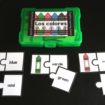 Los Colores - Spanish and English Learning Game