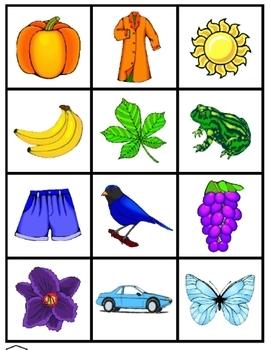 Los Colores:  Spanish colors activity set