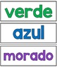Los Colores / The Colors - Signs in Spanish