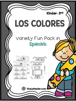 Los Colores Variety Pack in K-2 Spanish/ Colors in Spanish
