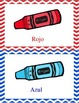 Los Colores : Vocabulary Interactive Book