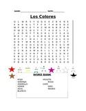Los Colores Wordsearch