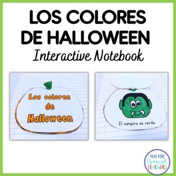 Los Colores de Halloween - Interactive Notebook
