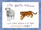 Los Colores de los Animales - The Colors of the Animals: 60 Slides