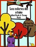Los Colores del otoño A Preschool Spanish Theme Pack for Colors