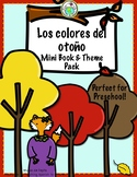 Los Colores del otoño A Preschool Spanish Theme Pack for Colors