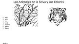Los Colores y Los Animals de la Selva