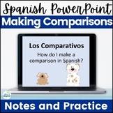Los Comparativos Spanish Comparisons PowerPoint Presentation