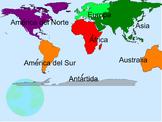 Los Continentes The Continents and Que Llueva TPRS