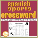 Los Deportes Crossword