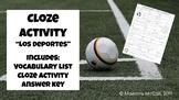 Los Deportes - Chapter 5 (Así Se Dice) - Vocabulary Practi