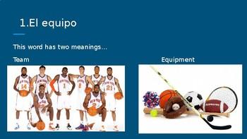 Los Deportes - Spanish Sports
