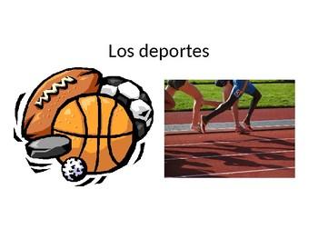 Los Deportes- Spanish Sports Vocabulary