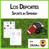 Los Deportes - Sports in Spanish - Activity Pack