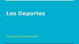 Los Deportes/Sports in Spanish - interactive presentation