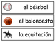 Los Deportes Vocabulary Word Wall – Sports Vocabulary in Spanish