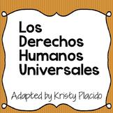 Los Derechos Humanos Universales - adapted for Spanish 3+ classes