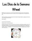 Los Dias de La Semana Wheel