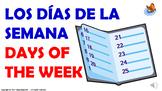 Los Días de la Semana y los Números Ordinales. / PPT. con audio.
