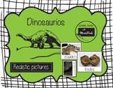 Montessori Los Dinosaurios (adjetivos)